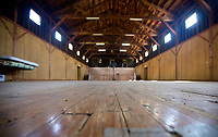 NWA Democrat-Gazette/JASON IVESTER<br /> Former Camp Crowder Gymnasium in the Shiloh Community on Wednesday, April 12, 2017, in Sulphur Springs.