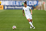 CHESTER, PA - MARCH 01: Demi Stokes (ENG). The England Women's National Team played the France Women's National Team as part of the She Believes Cup on March, 1, 2017, at Talen Engery Stadium in Chester, PA. The France won the game 2-1.