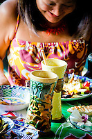 Details with exotic tiki drinks and pupus with a Hawaiian lifestyle covering the people, activities, location, culture, unique traditions, art, food and culture