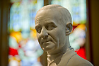 Oct. 4, 2011; St. Andre Bessette statue, Basilica of the Sacred Heart..Photo by Matt Cashore/University of Notre Dame