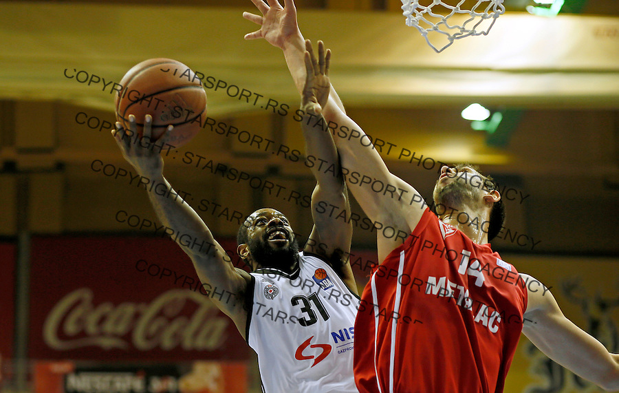 Jamar Wilson Partizan - Metalac kosarka ABA regionalna liga 13.12.1015. December 13. 2015. (credit image & photo: Pedja Milosavljevic / STARSPORT)