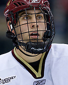 Kyle Kucharski (BC 18)  - The University of Michigan Wolverines defeated the Boston College Eagles 4-3 in overtime in the opening game of the Ice Breaker Tournament on Friday, October 12, 2007, at the Xcel Energy Center in St. Paul, Minnesota.