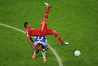 FUSSBALL   SAISON 2011/2012   CHAMPIONS LEAGUE FINALE FC Bayern Muenchen - FC Chelsea  19.05.2012 Jerome Boateng (FC Bayern Muenchen) gegen Didier Drogba (FC Chelsea) obenauf