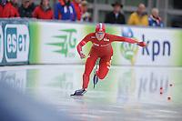 SCHAATSEN: AMSTERDAM: Olympisch Stadion, 01-03-2014, KPN NK Sprint/Allround, Coolste Baan van Nederland, Thijsje Oenema, ©foto Martin de Jong