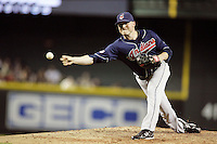 27 June 2011: Pitcher #38 Joe Smith on the mound during a Major League Baseball game MLB Cleveland Indians defeated the Arizona Diamondbacks 5-4 inside Chase Field in Phoenix, AZ.  **Editorial Use Only**