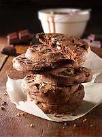 Chocolate Biscuits stock photos by Paul Randall Williams