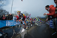 Liege-Bastogne-Liege 2012.98th edition..Philippe Gilbert up La Redoute