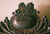 Cuba/La Havane: Détail Bas-relief en bois - Fabrique de cigares Fabrica Partagas, casa del Habano, Calle Industria N°520, Habana Vieja