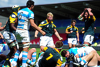 Franco van den Berg of South Africa U20 celebrates a try. World Rugby U20 Championship 3th Place Play-Off between Argentina U20 and South Africa U20 on June 25, 2016 at the AJ Bell Stadium in Manchester, England. Photo by: Patrick Khachfe / Onside Images