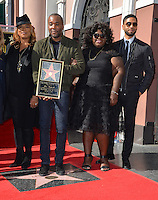 LOS ANGELES, CA. December 2, 2016: Queen Latifah &amp; Lee Daniels &amp; Gabourey Sidibe &amp; Jussie Smollett at star ceremony for director Lee Daniels on the Hollywood Walk of Fame.<br /> Picture: Paul Smith/Featureflash/SilverHub 0208 004 5359/ 07711 972644 Editors@silverhubmedia.com