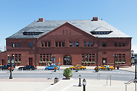 New London Union Railroad Station in New London, Connecticut