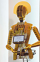 November 9th, 2011 : Tokyo, Japan &ndash; A newly invented robot is displayed during International Robot Exhibition 2011. This show is held to showcase new robots and high technology equipments at the Tokyo International Exhibit Center. International Robot Exhibition 2011 runs from November 9 &ndash; 12. (Photo by Yumeto Yamazaki/AFLO)