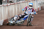 Heat 2: Stuart Robson of Lakeside - Lakeside Hammers vs Wolverhampton Wolves - Elite League Speedway at Arena Essex Raceway - 16/05/11 - MANDATORY CREDIT: Gavin Ellis/TGSPHOTO - Self billing applies where appropriate - Tel: 0845 094 6026