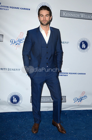 LOS ANGELES, CA - JULY 28: Chace Crawford at the Los Angeles Dodgers Foundation Blue Diamond Gala at Dodger Stadium, in Los Angeles, California, on July 28, 2016. Credit: David Edwards/MediaPunch