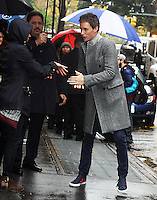 NEW YORK, NY November 09:Eddie Redmayne at the View to talk about new movie Fantastic Beasts in New York .November 09, 2016. Credit:RW/MediaPunch