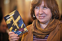 Belarus: Svetlana Alexievich, Nobel Prize in Literature – 2015
