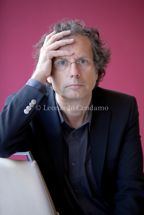 Maurizio Ferraris is full professor of Theoretical Philosophy at the University of Torino, where he is the director of Labont (Laboratory for Ontology). Torino, 19 maggio 2013. © Leonardo Cendamo