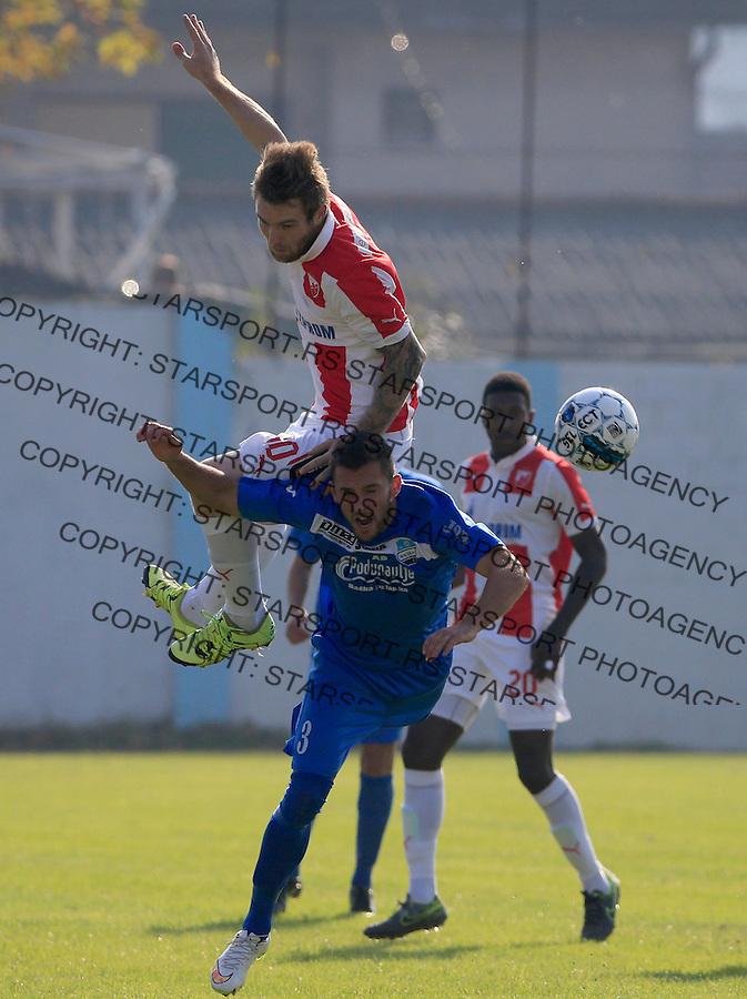 Fudbal Kup Srbije season 2015-2016<br /> Backa v Crvena Zvezda<br /> Aleksandar Katai (L)<br /> Backa Palanka, 28.10.2015.<br /> foto: Srdjan Stevanovic/Starsportphoto&copy;