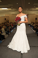 Unveiled bridal fashion show presented by St. Louis Magazine in Ritz-Carlton Hotel in Clayton, Missouri on Jan 31, 2016.
