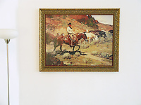 "Frank Tenney Johnson: ""Bringing In the Horses"". Frank Tenney Johnson (1874-1939) was a painter of the american west. Johnson popularized a style of painting cowboys which became known as ""The Johnson Moonlight Technique"""