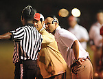 Lafayette High coach Anthony Hart vs. Lewisburg in Homecoming football action in Oxford, Miss. on Friday, September 30, 2011. Lafayette High won 42-0 for the team's 23rd straight win.