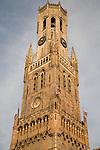 Belfont - Belfry, Market Place, Bruges, Belgium, Europe