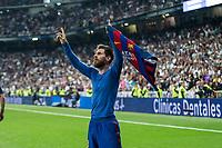 Real Madrid vs Barcelona at Santiago Bernabeu