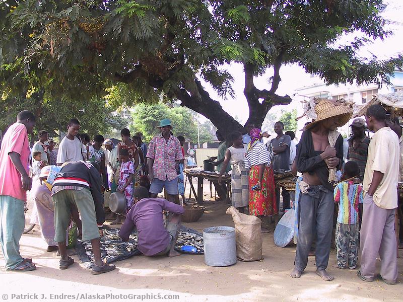 Marromeu village, Mozambique, AFRICA, Iris Ministries May 2001.