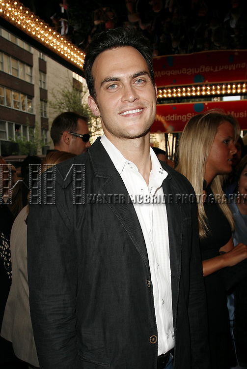 Cheyenne Jackson attending the Opening Night performance of THE WEDDING SINGER at the AL Hirschfeld Theatre in New York City..April 27th, 2006.© Walter McBride / Retna Ltd.