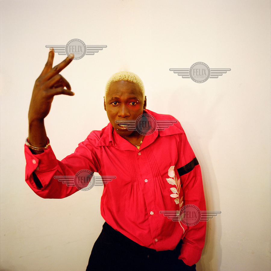The Kuduru/Kuduro musician and TV presenter Sebem. Sebem is the presenter of the Kuduru program Sempre a Subir produced by the national channel TPA 1..