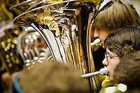 HAMPSHIRE COUNTY YOUTH BAND getting ready to go on stage.??Winchester Festival photos, done as part of the Winchester City Council Festivals Photography Project - five photographers invited to shoot one of five cultural events during the summer with a group show of the photos scheduled for 2010.??Location:?St Swithun's Performing Arts Centre??Contact:?Ellen Simpson?01962 848 219?ESimpson@winchester.gov.uk??John Miller - ?07968 104951?01962 732410?jonail.miller@tiscali.co.uk??Date Taken: 12/07/09???Client: Winchester Tourism Dept, Ellen Simpson?Ellen Simpson.Tourism Marketing and Development Manager.Winchester City Council.City Offices.Colebrook Street.WINCHESTER.Hants  SO23 9LJ. .Tel 01962 848 219.Fax 01962 848 427. .www.winchester.gov.uk.www.visitwinchester.co.uk.www.winchestermuseumcollections.org.uk