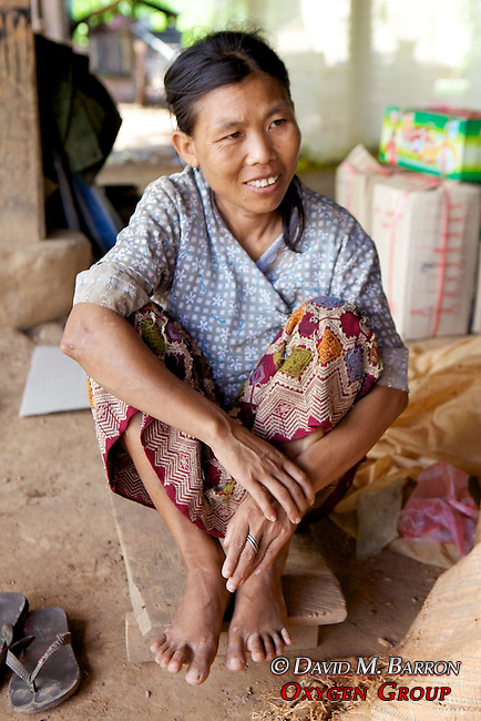 Woman In Pottery Village