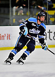 3 December 2011: University of Maine Black Bear defenseman Ryan Hegarty, a Senior from Arlington, MA, in action against the University of Vermont Catamounts at Gutterson Fieldhouse in Burlington, Vermont. The Catamounts fell to the Black Bears 5-2 in the second game of their 2-game Hockey East weekend series. Mandatory Credit: Ed Wolfstein Photo