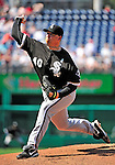 20 June 2010: Chicago White Sox' pitcher J.J. Putz on the mound against the Washington Nationals at Nationals Park in Washington, DC. The White Sox swept the Nationals winning 6-3 in the last game of their 3-game interleague series. Mandatory Credit: Ed Wolfstein Photo