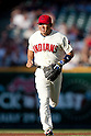 Kosuke Fukudome (Indians),JULY 30, 2011 - MLB :Kosuke Fukudome of the Cleveland Indians during the game against the Kansas City Royals at Progressive Field in Cleveland, Ohio, United States. (Photo by Thomas Anderson/AFLO) (JAPANESE NEWSPAPER OUT)