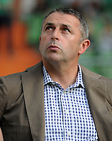 FUSSBALL   1. BUNDESLIGA   SAISON 2011/2012   TESTSPIEL SV Werder Bremen - FC Everton                 02.08.2011 Manager Klaus ALLOFS (Werder Bremen)