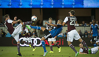 San Jose, Ca. - Friday, August 14, 2015: The San Jose Earthquakes defeated the Colorado Rapids 1-0 at Avaya Stadium.