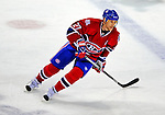21 December 2008: Montreal Canadiens' right wing forward Alexei Kovalev from Russia skates in overtime against the Carolina Hurricanes at the Bell Centre in Montreal, Quebec, Canada. The Hurricanes defeated the Canadiens 3-2 in overtime. ***** Editorial Sales Only ***** Mandatory Photo Credit: Ed Wolfstein Photo