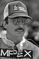 LEXINGTON, OH - JUNE 8: Bobby Rahal, driver of the Prophet 2/Chevrolet, at the Can-Am race on June 8, 1980, at the Mid-Ohio Sports Car Course near Lexington, Ohio.