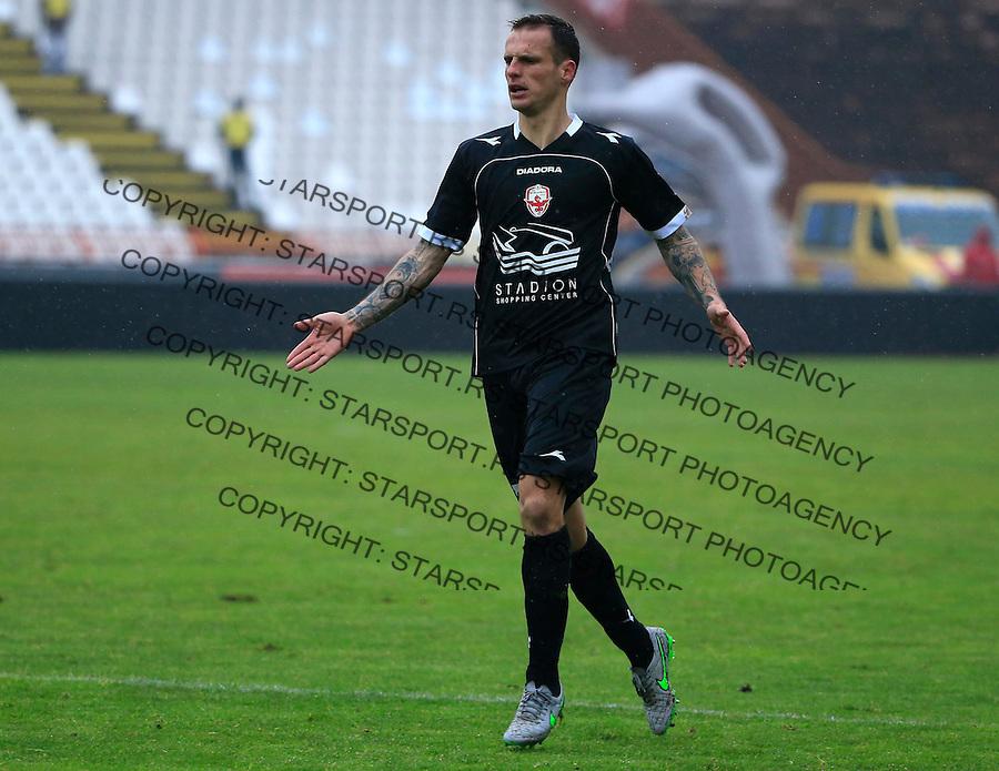 Fudbal Jelen Super League season 2015-2016<br /> Crvena Zvezda v Vozdovac<br /> Marko Jovanovic<br /> Beograd, 28.11.2015.<br /> foto: Srdjan Stevanovic/Starsportphoto&copy;