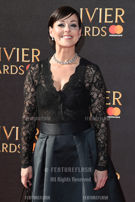 Ruthie Henshall at The Olivier Awards 2017 at the Royal Albert Hall, London, UK. <br /> 09 April  2017<br /> Picture: Steve Vas/Featureflash/SilverHub 0208 004 5359 sales@silverhubmedia.com