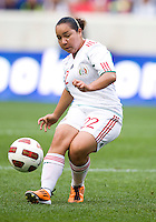 Charlyn Corral. The USWNT defeated Mexico, 1-0, during the game at Red Bull Arena in Harrison, NJ.