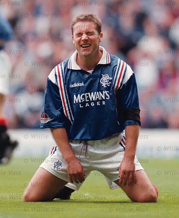 Ally McCoist misses a sitter