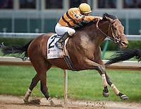 Successful Dan, Julien Leparoux up, wins the Alysheba Stakes on Kentucky Oaks Day at Churchill Downs in Louisville, Kentucky on May 4, 2012.