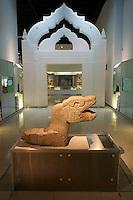Zoomorphic figure from Gran Museo del Mundo Maya museum in Merida, Yucatan, Mexico      ..