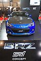 "January 13, 2012, Chiba, Japan - Subaru's ""BRZ STI"" concept car is displayed during the 2012 Tokyo Auto Salon at Makuhari Messe. The car show runs from January 13-15. (Photo by Christopher Jue/AFLO)"