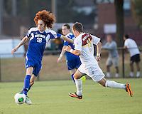 Winthrop University Eagles vs the Brevard College Tornados at Eagle's Field in Rock Hill, SC.  The Eagles beat the Tornados 6-0.  Augusto Isern (18), Patrick Barnes (11)