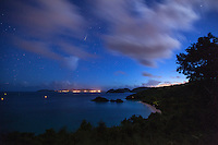 Night over Trunk Bay<br />