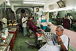 A local barber shop in Santiago de Cuba.