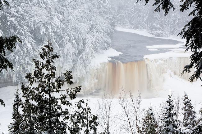 Tahquamenon Falls, Winter